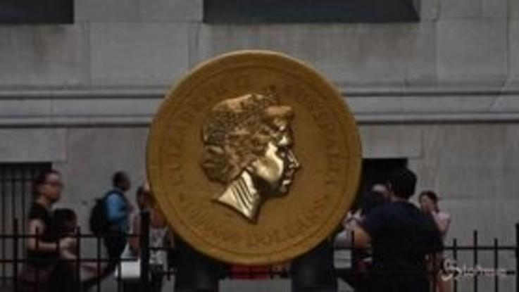 A New York la moneta più grande del mondo: vale 50 milioni di dollari