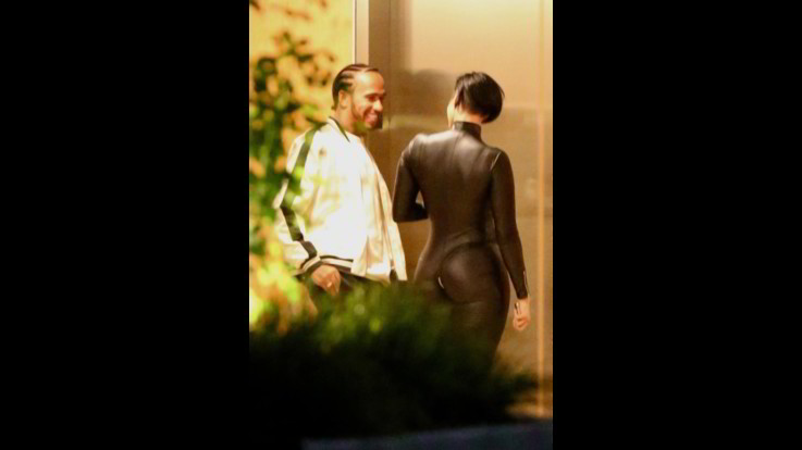 Lewis Hamilton e Zahra Elise, carezze e notte insieme a Los Angeles. Amore in vista?
