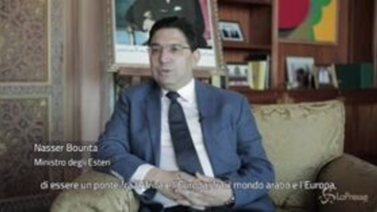 """Marocco, ponte tra Africa ed Europa. Il ministro degli esteri Bourita: """"Italia diventi partner strategico"""""""