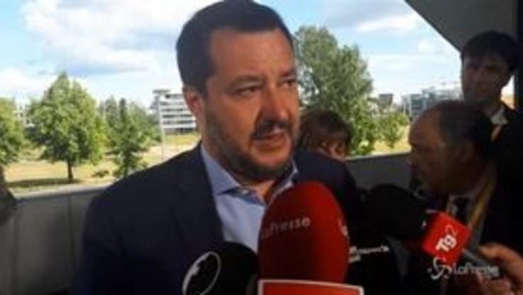 """Salvini: """"Oltre questo governo ci sono solo elezioni, non vedo altro"""""""