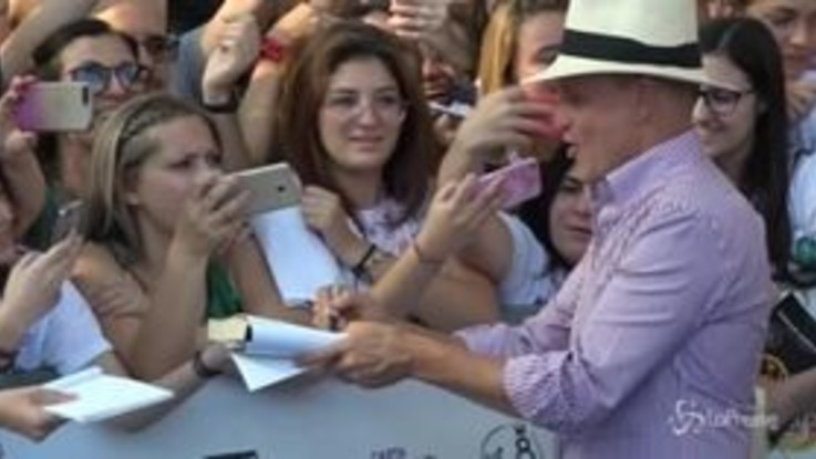 Giffoni Film Festival, tutti pazzi per Woody Harrelson