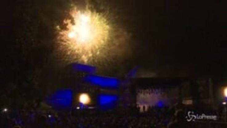 Houston, fuochi d'artificio e musica live per i 50 anni dall'allunaggio