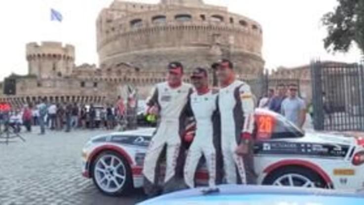 Rally di Roma, al via anche tre equipaggi Abarth 124