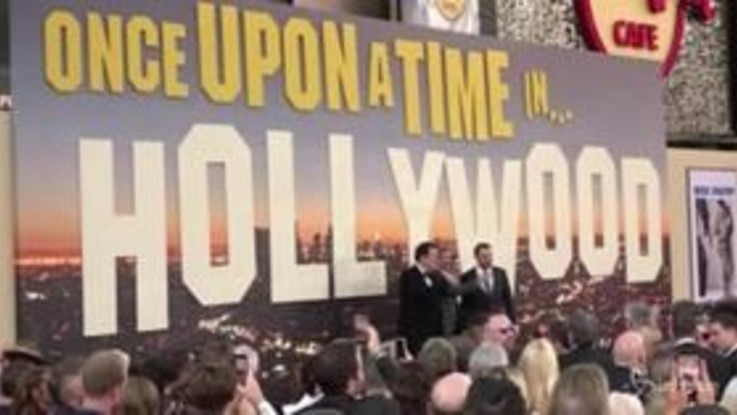 """C'era una volta a... Hollywood"", la premiere dell'ultimo film di Tarantino"