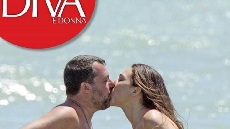 Matteo Salvini e Francesca Verdini, luna di miele hot al mare