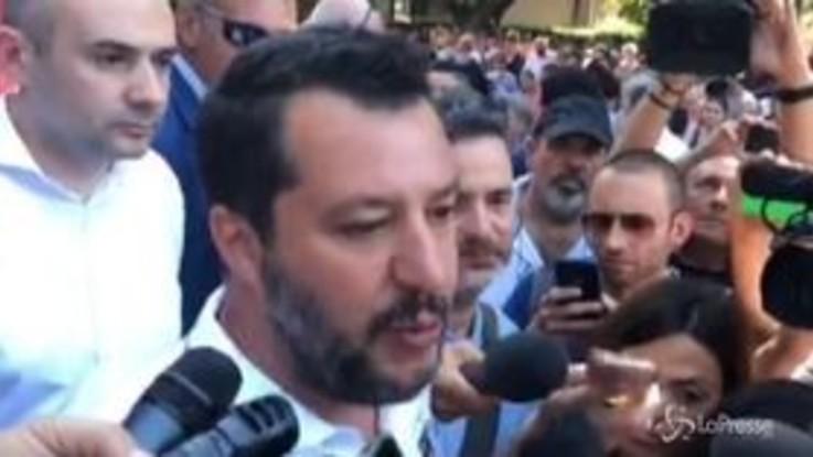 """Bibbiano, Salvini: """"Non mi interessa colore politico, salviamo questi bimbi"""""""