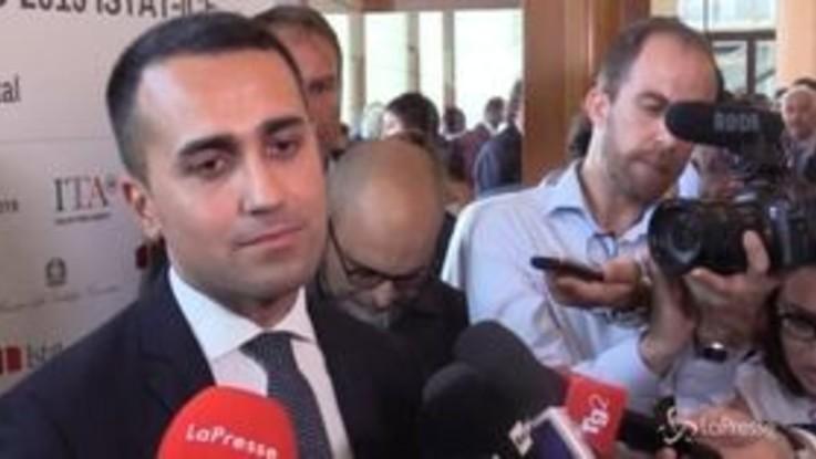 """Di Maio: """"Cantone sempre leale con il governo"""""""