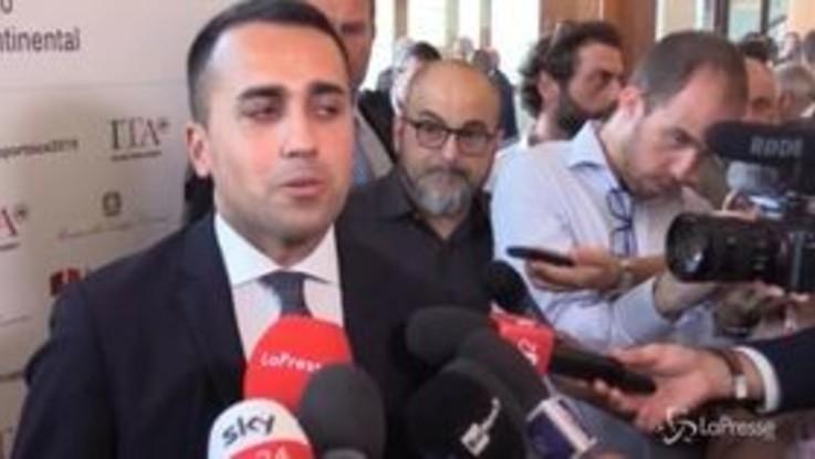 """Governo, Di Maio: """"Ho chiesto incontro a Salvini e Conte, parlare a mezzo stampa non è utile"""""""