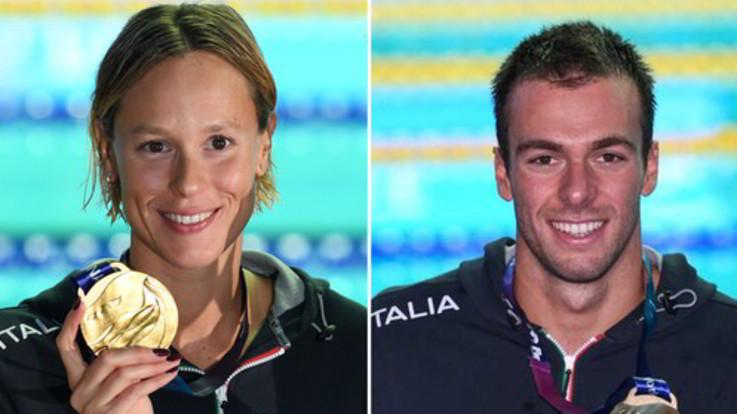 Mondiali di Nuoto, oro per Pellegrini e Paltrinieri