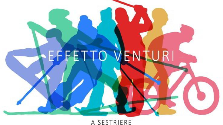Se un tunnel diventa una tela: 'Effetto Venturi', la performance di Carlo Gloria a Sestriere