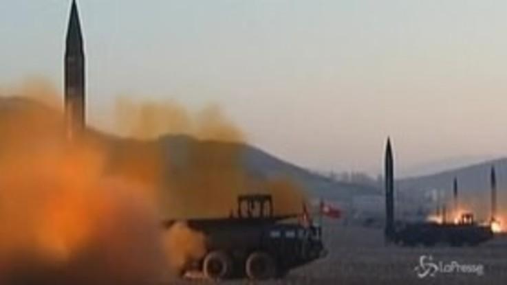 La Corea del Nord lancia due missili nel mar del Giappone