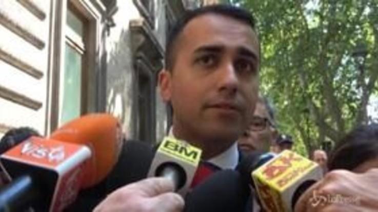 """Governo, Di Maio: """"Chi vuole crisi non vuole permettere taglio parlamentari"""""""