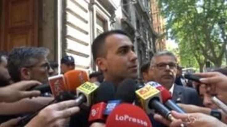 """Governo, Di Maio: """"Non alimentare litigi, ma lavorare per obiettivi"""""""