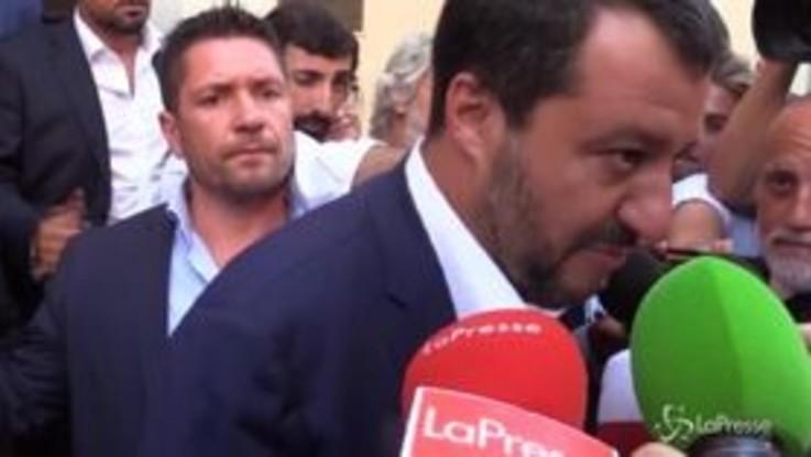 """Salvini: """"La questione aperta è la prossima manovra economica"""""""