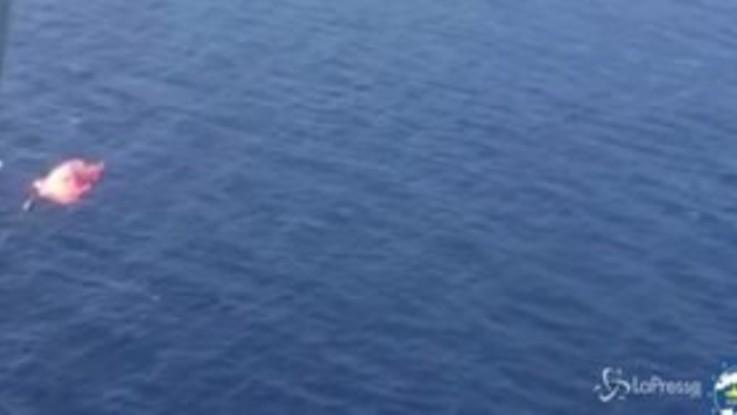 Naufragio al largo della Libia, si temono oltre 100 morti