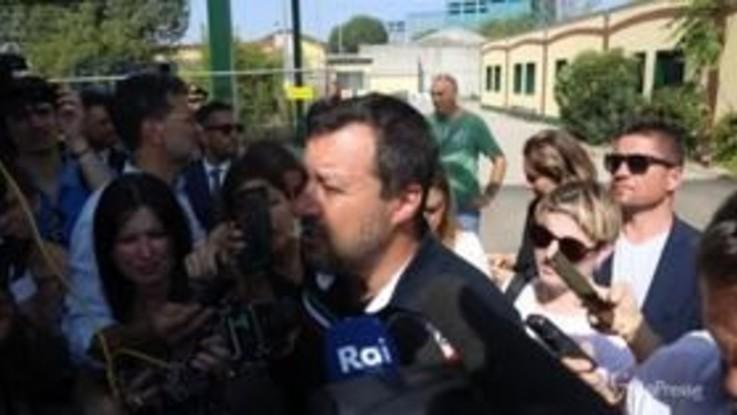 """Omicidio carabiniere, Salvini: """"Responsabili passino la vita in carcere lavorando"""""""