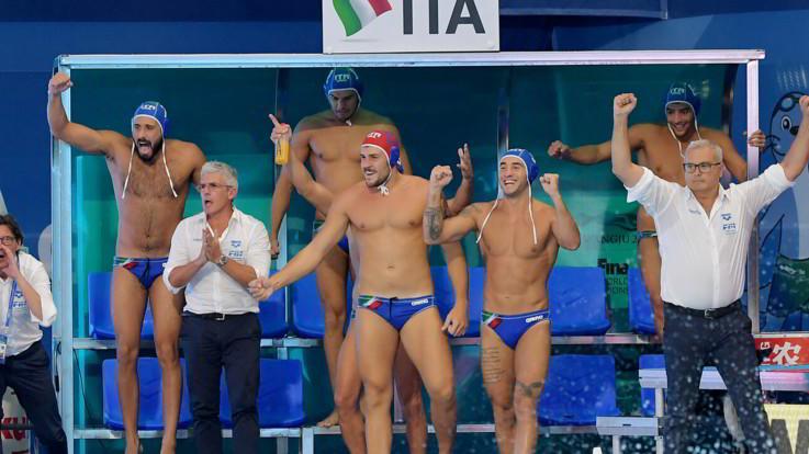 Pallanuoto, Italia campione del mondo: battuta in finale la Spagna 10-5
