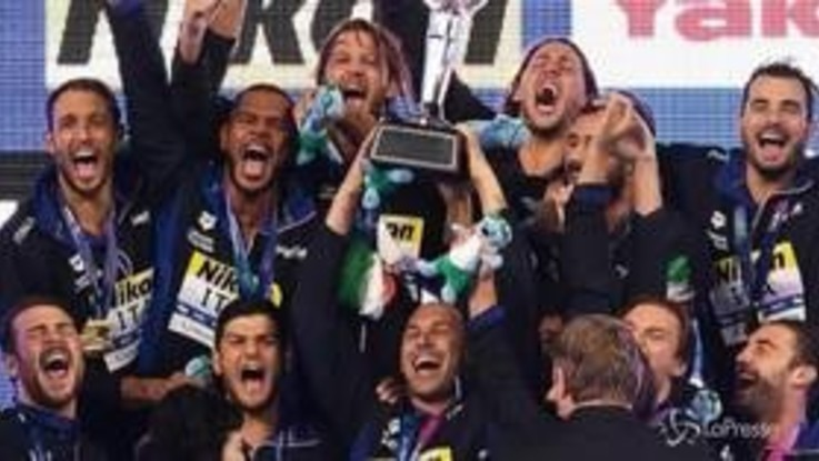 Mondiali, il Settebello conquista l'oro