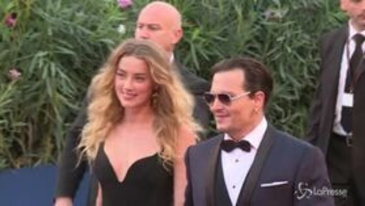 Nuove accuse di Depp a ex moglie Amber Heard