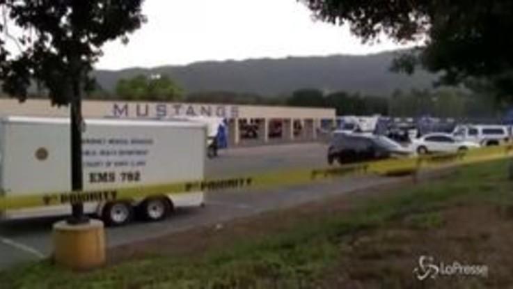 Sparatoria in California, almeno quattro morti e diversi feriti