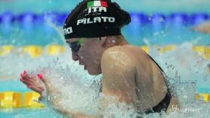 Mondiali nuoto, per l'Italia un argento e un bronzo