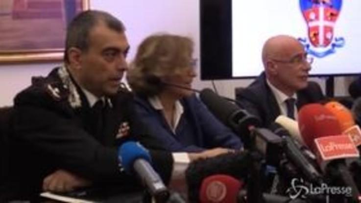 Carabiniere ucciso, le immagini dell'arma del delitto