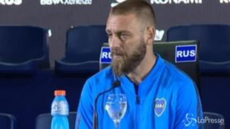 """Il Boca Juniors presenta Daniele De Rossi: """"Darò quello che avrei dato alla Roma"""""""