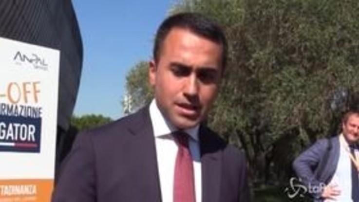 """Tav, Di Maio: """"È un regalo ai francesi, se tutti votano lealmente abbiamo i numeri per bloccarla"""""""