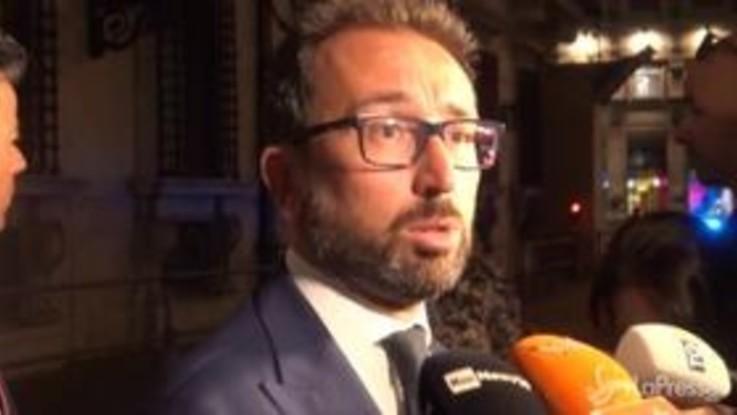 """Riforma della giustizia, Bonafede: """"Non vorrei che il nodo fosse la prescrizione"""""""