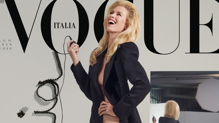 Claudia Schiffer e Stephanie Seymour tornano in copertina su Vogue Italia