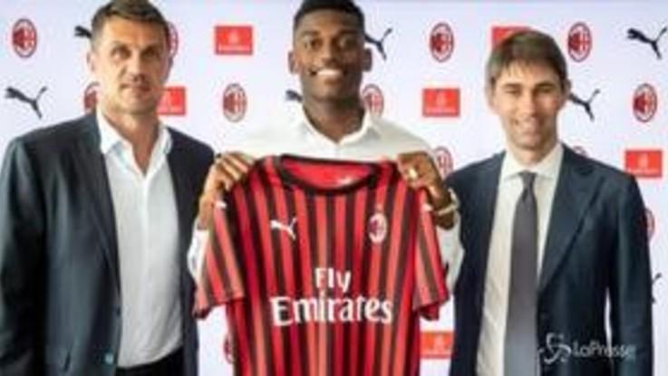 Milan: è ufficiale l'acquisto di Rafael Leao