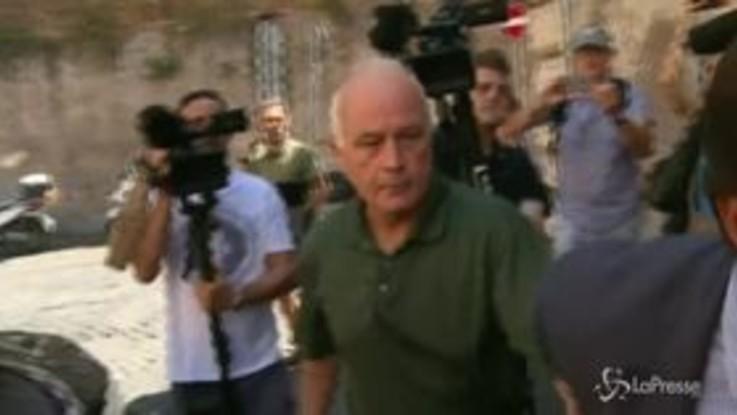 Carabiniere ucciso, padre del presunto killer a Regina Coeli