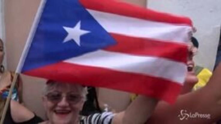 Porto Rico, festa nelle strade dopo le dimissioni del governatore Rosselló