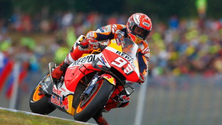 MotoGp, Brno: pole position di Marc Marquez
