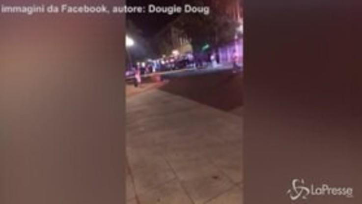 Sparatoria in Ohio, nella diretta Facebook l'intervento delle forze dell'ordine