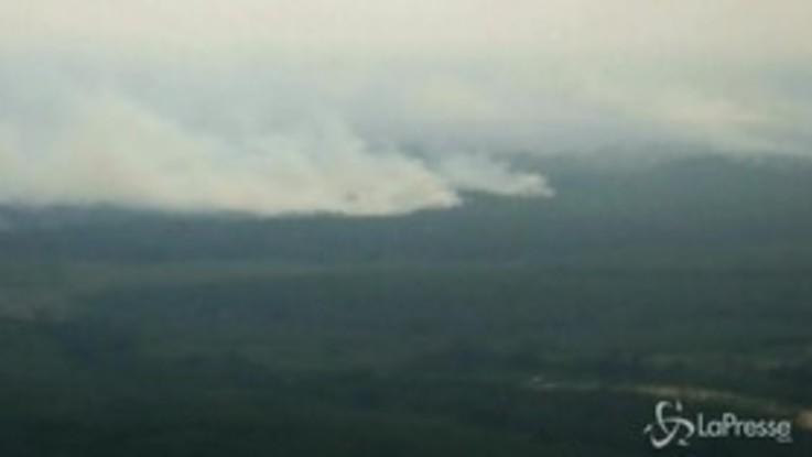 Indonesia, le fiamme divorano le foreste di Riau