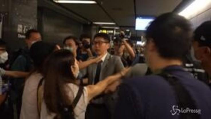 Caos a Hong Kong per lo sciopero generale