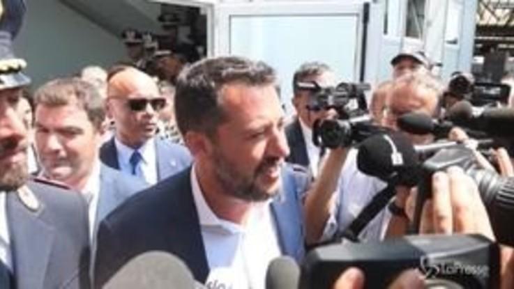 """Dl sicurezza bis, Salvini: """"Don Ciotti? Dichiarazioni surreali, o non lo ha letto o non lo ha capito"""""""