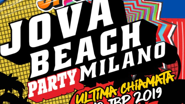 Jova Beach Party, gran finale a Linate il 21 settembre