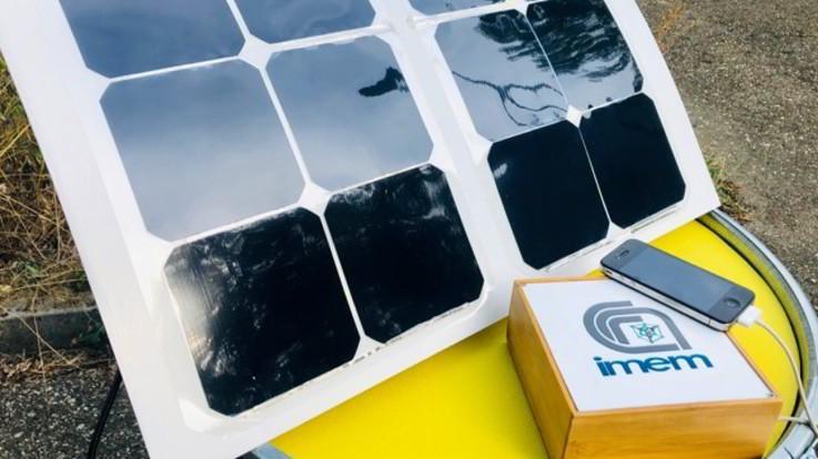 Il Cnr sviluppa un sistema per ricaricare smartphone e tablet col sole