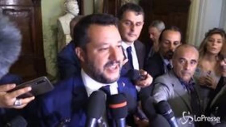 """Dl sicurezza bis, Salvini: """"Bella giornata: per chi è stato a Medjugorje è compleanno Vergine Maria"""""""