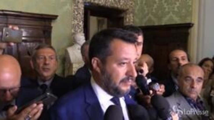 """Governo, Salvini: """"Stanco di attacchi da alleati"""""""
