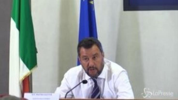 """Governo, Salvini: """"E' il momento del coraggio e delle decisioni"""""""