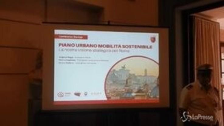 Roma, presentato il piano urbano di mobilità sostenibile