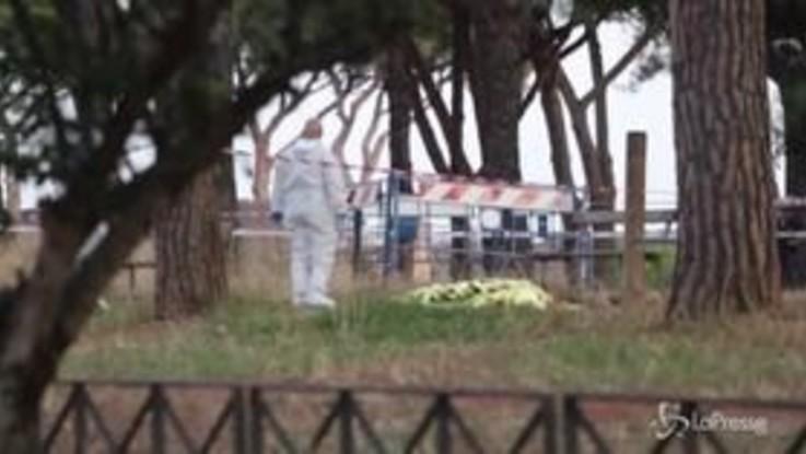Agguato a ultrà della Lazio, la scientifica sul luogo del delitto