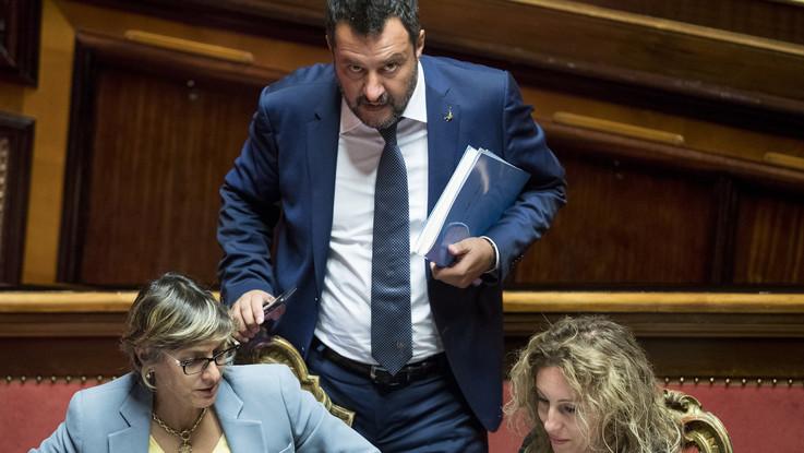 """Governo, Salvini: """"Non ci interessano poltrone in più ma qualcosa si è rotto"""""""