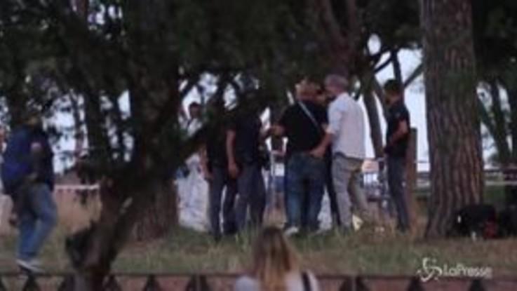 Agguato ultrà della Lazio: l'arrivo del fratello sul luogo del delitto