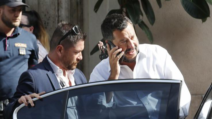 """Salvini apre la crisi: """"Inutile andare avanti, la maggioranza non c'è più. Al voto"""""""