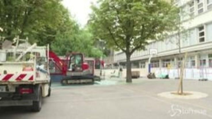 Incendio di Notre-Dame, in corso le operazioni di bonifica delle scuole