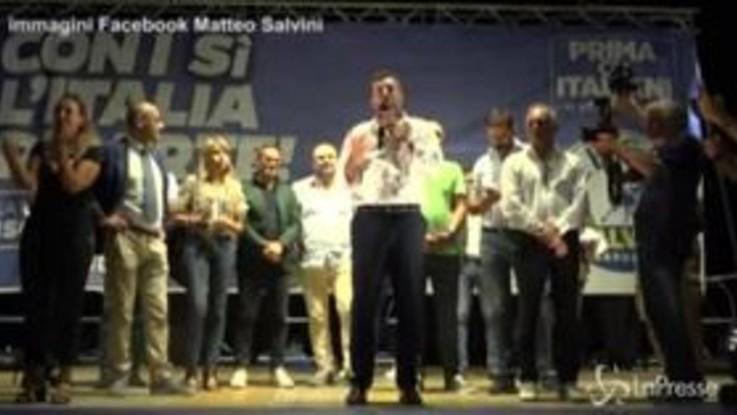 """Crisi di governo, Salvini: """"Basta no, siamo al servizio del popolo italiano"""""""